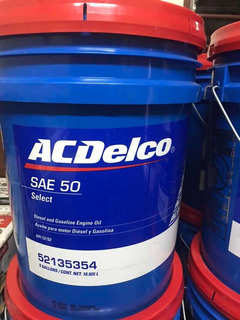 Aceite Diesel 50 Acdelco