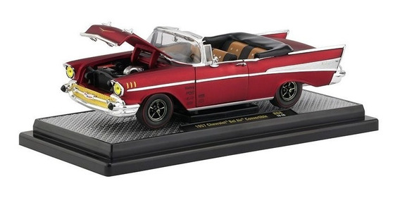 Miniatura Chevrolet Bel Air 1957 1:24 M2machines