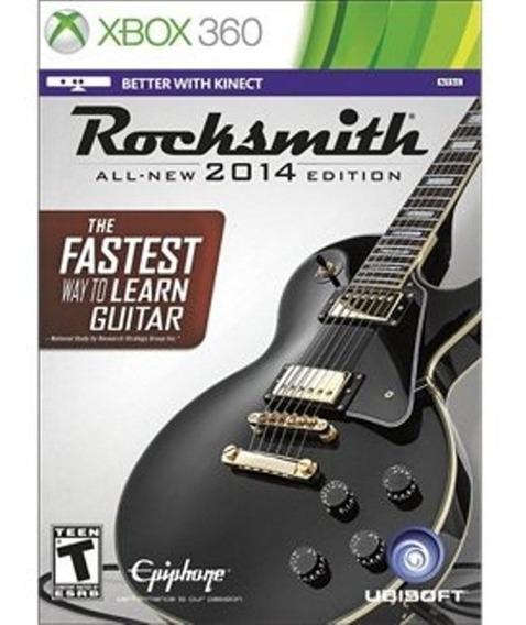 Rocksmith All-new 2014 Edition Sem Cabo - Xbox 360