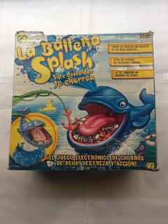 Juego De Mesa Juguete Ballena Splash