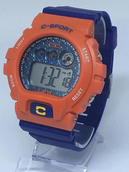 Relógio Infantil Menino Digital Led Sport Barato