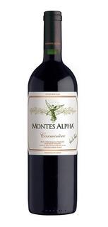 Vino Montes Alpha Carmenere 750cc Origen Chile