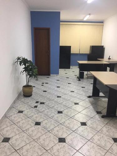 Imagem 1 de 7 de Sala Para Alugar, 35 M² - Jardim Do Mar - São Bernardo Do Campo/sp - Sa4214