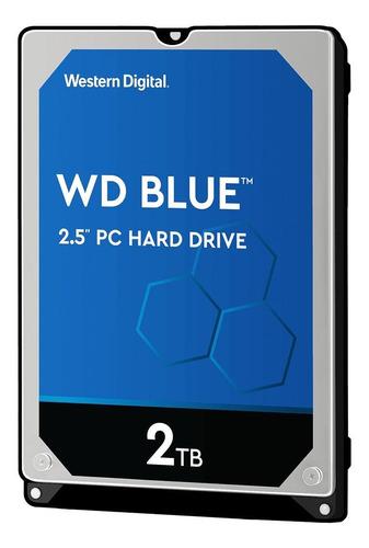 Imagen 1 de 3 de Disco duro interno Western Digital  WD20SPZX 2TB azul