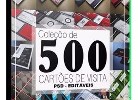 500 Templates Em Ps (photoshop)- Editáveis