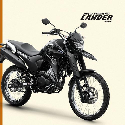 Lander 250 Abs 2021 Yamaha 0km Preto