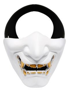 Máscara De Media Cara Inferior Para Acampar Juegos
