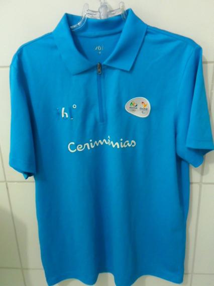 Camisa Olimpíadas Rio 2016 Azul Cerimônia