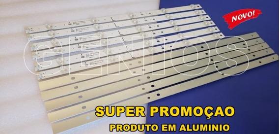 Barras De Led Tv Aoc 12 Barras. Le50d1452 Aluminio Recife