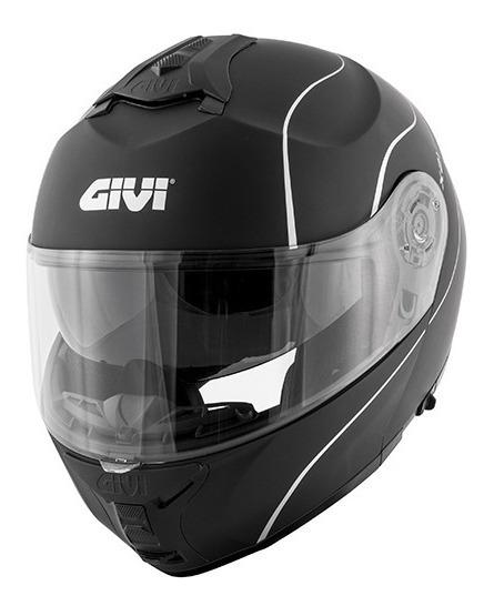 Capacete Givi X21 Graphic Preto Fosco/branco 12x S/ Juros