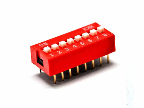 Dip Switch Dipswitch 6 Posiciones Interruptor Arduino