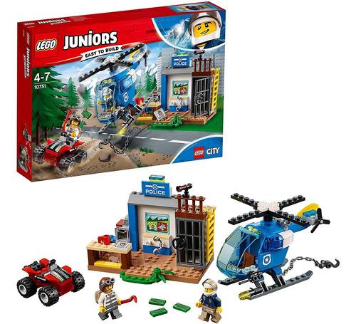 Lego Juniors 10751 - Policía De Montaña, 100% Original