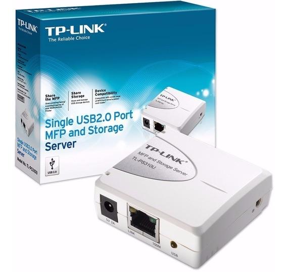 Print Server Tp-link Tl-ps310u Usb 2.0 Multifuncion