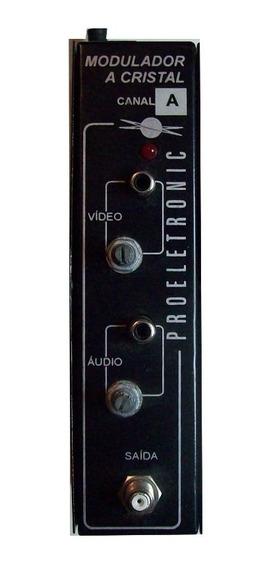 Modulador Proeletronic Pqmo1000 Canal 6 N Adjacente Av Rca