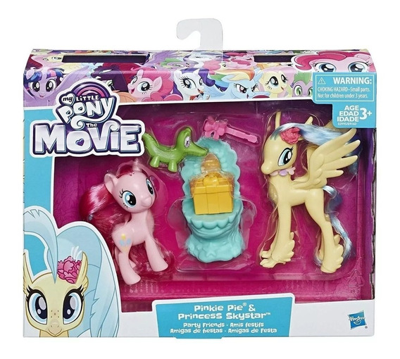 My Little Pony 2 Figuras Pinkie Skystar Rarity Twilight
