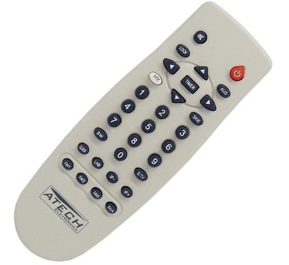 Controle Remoto Compatível Receptor Bedin Sat Bs3000