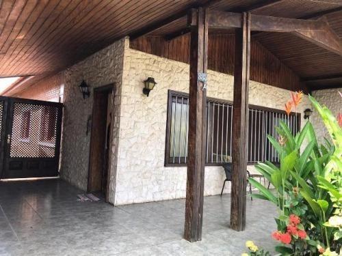 Casa Com Jardim De Inverno No Cibratel | Itanhaém - 6525 Npc
