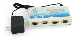 Easysync Convertidor Usb 4 Puertos Com Interface Db-9 Macho