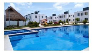 Imagen 1 de 14 de Casa Nueva Equipada En Privada Palmas Yucatan Mod.zafiro