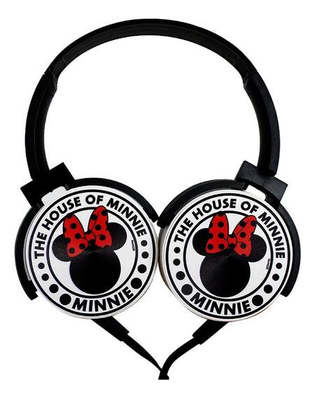 Fone De Ouvido Minnie Mouse The Original Com Microfone