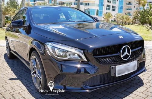 Mercedes-benz Cla-180 1.6 16v 122cv Aut. 2018 Preta