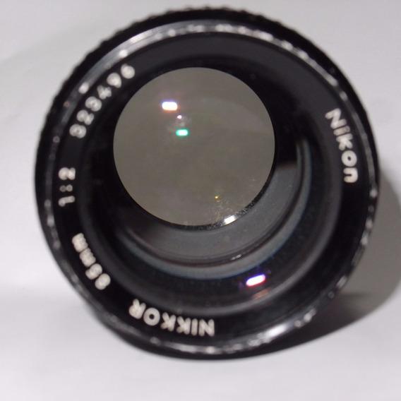 Lente 85mm Nikon F2 Fx 1.4
