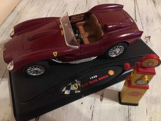 Ferrari Testa Rosa 1958 , Colección Shell.escala 1:18.