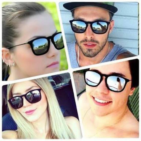 Óculos Sol Feminino Masculino Veludo Espelhado Frete Rs 15