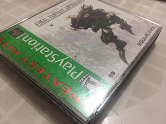 Final Fantasy Anthology Original Completo Psone Us A