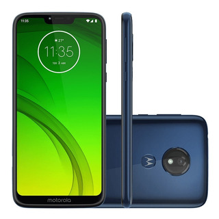Moto G7 Power Azul Navy Motorola 6,2 , 4g, 32g,12mp Xt1955-1