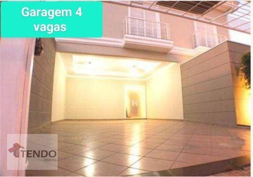 Imagem 1 de 18 de Sobrado Com 5 Dormitórios À Venda, 265 M² Por R$ 1.100.000,00 - Jardim Esplanada - Indaiatuba/sp - So0278