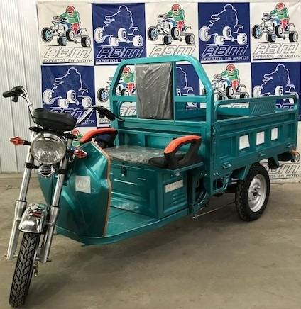 Imagen 1 de 2 de Triciclo Elctrico Soporta 600 Kilos 1500w