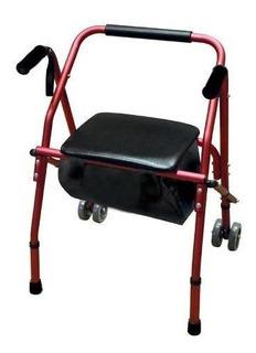 Silfab Andador Tipo Rollator Con Asiento Y Ruedas Mod. 3018