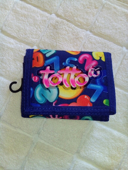 Monedero Billetera Para Damas Totto Original Nueva