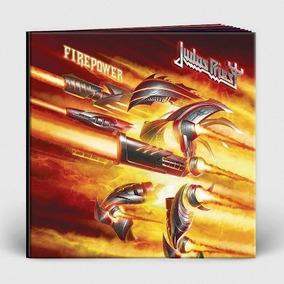 Box Judas Priest - Firepower (alemão Digibook Alto-relevo)