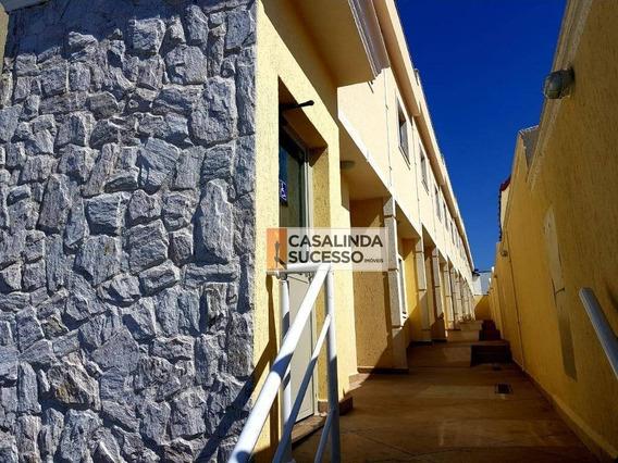 Sobrado Com 2 Dormitórios À Venda, 58 M² Por R$ 275.000 - Vila Esperança - São Paulo/sp - So0965