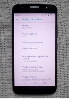 Motorola G5s Plus ( Tela Trincada )
