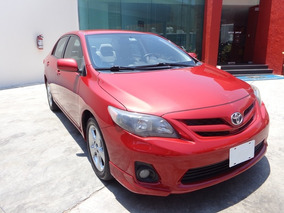 Toyota Corolla Xle 2012 Rojo 4 Ptas