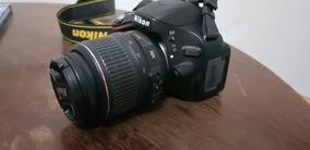 Câmera Nikon D5100 Com Lente 18-55 Mm