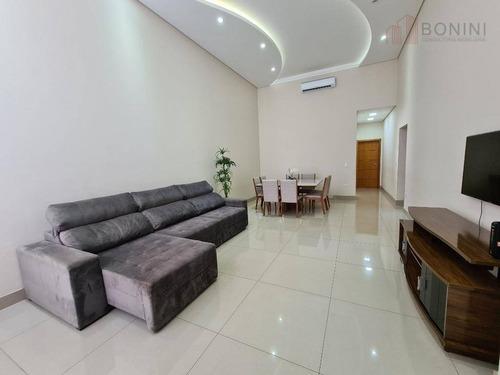 Casa Com 3 Dormitórios À Venda, 259 M² Por R$ 850.000,00 - Jardim Mollon - Santa Bárbara D'oeste/sp - Ca0583