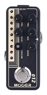 Pedal Micro Series Preamplificador Mooer 012 - Us Gold 100