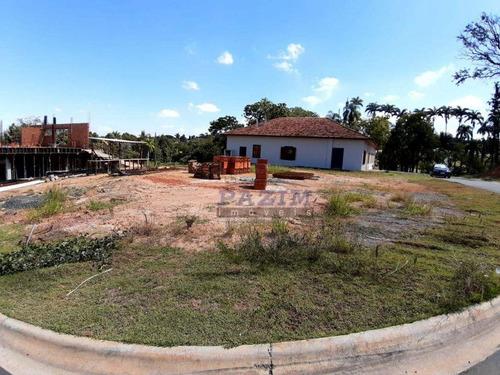 Terreno À Venda, 334 M² - Condomínio Reserva Do Itamaracá - Valinhos/sp - Te2573