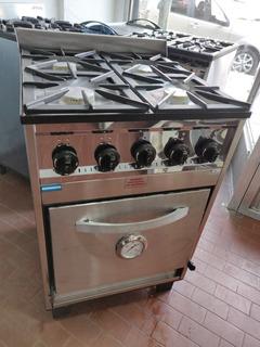 Cocina Industrial 4 Hornallas Tecnocalor Bartolozzo Sanjusto