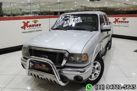 Ford Ranger Xlt 2.3 Cd 2007 Prata Financiamento Próprio 8891