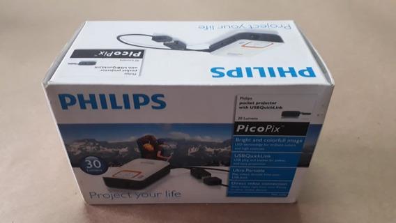 Mini Projetor Portátil Philips Picopix