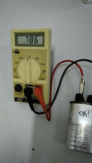 Capacitor Para .microondas 0,76 Uf 2100v Usado