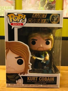 Funko Pop! Kurt Cobain #65 - Nuevo!