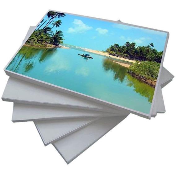 Papel Fotográfico 180g Glossy A4 À 500 Folhas Premium