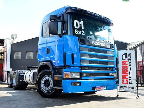 Scania 124 360 6x2 2001= R420 P340 Mb 1938 2540 Iveco 380