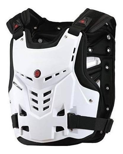 Pechera Scoyco Motocross Atv Enduro Proteccion Blanca Um
